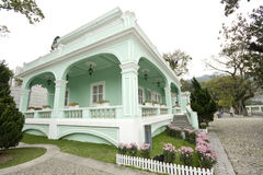 Taipa houses museum Stock Images