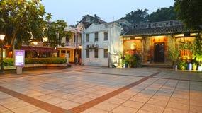 Taipa, Macao novembre, 09 del 2016 - tempio & pub di Pek Tai immagine stock