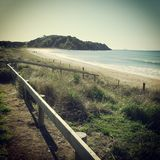 Taipa-Strand, weite Nord-, Ostküste, Neuseeland. Lizenzfreie Stockfotografie