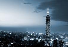 Taipeh 101, het langste gebouw in Taiwan Royalty-vrije Stock Fotografie