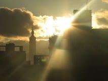 Taipeh 101 bei Sonnenaufgang Stockbilder