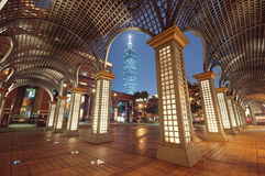 Taipeh bis zum Nacht. (Taiwan) Stockfoto