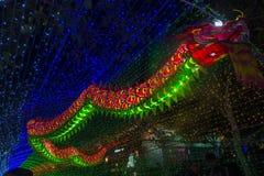 Taipeh der Longshan-Tempel Stockfotografie