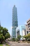 Taipeh 101, hohes Aufstiegsgebäude in Taipeh, Taiwan, ROC Stockfoto