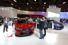 TAIPEH - 3. Januar: Auto Toyotas Newst Stockfotografie