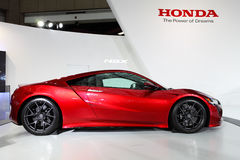TAIPEH - 3 januari: Honda NSX bij Internationale Auto van Taipeh wordt getoond dat toont Stock Foto's