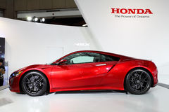 TAIPEH - 3 januari: Honda NSX bij Internationale Auto van Taipeh wordt getoond dat toont Royalty-vrije Stock Afbeelding