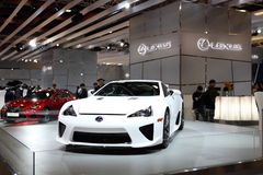 TAIPEH - 3 januari: Lexus LFA Stock Foto
