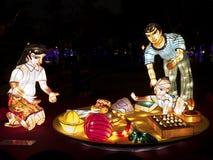 Taipeh-Laternen-Festival 2014 Stockfotos