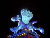 Taipeh-Laternen-Festival 2014 Stockbild
