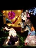 Taipeh-Laternen-Festival 2014 Lizenzfreies Stockbild