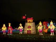 Taipeh-Laternen-Festival 2014 Lizenzfreie Stockbilder