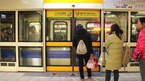 Taipeh-Metro-Ostlieferstelle HD stock video footage