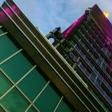 Taipeh 101 Roofdeck stockbilder
