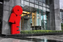 Taipeh, Taiwan, EINS lizenzfreies stockfoto