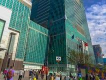 Taipeh, Taiwan - 22. November 2015: Turm Taipehs 101, Ansicht von Stockfoto