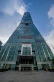 Taipeh 101 Toren Stock Foto