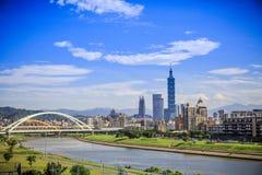 Taipeh 101 Toren, Taipeh, Taiwan Stock Foto's