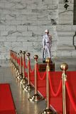 Taipeh-zhongzhengtang Soldat-Übergabezeremonie lizenzfreie stockfotos