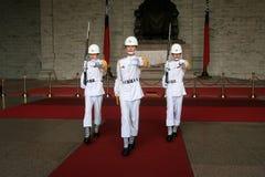 Taipeh-zhongzhengtang Soldat-Übergabezeremonie lizenzfreie stockbilder