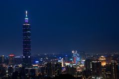 Taipei 101 royalty free stock images