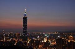 Taipei 101 3 Foto de Stock Royalty Free