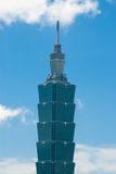 Taipei 101 building Royalty Free Stock Images