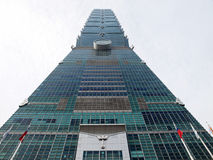 Taipei 101 building. Stock Photos