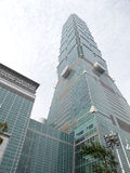 Taipei 101 building. Royalty Free Stock Images