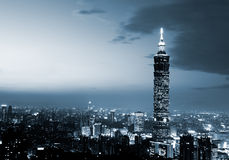 Taipei 101, das höchste Gebäude in Taiwan Lizenzfreie Stockfotografie