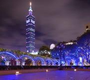 Taipei 101 Royaltyfri Foto