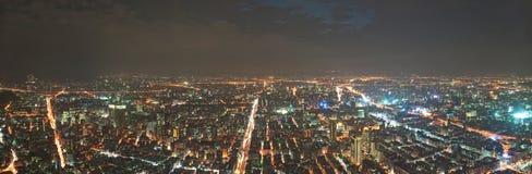 Taipei aerial view Royalty Free Stock Image