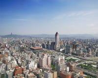 Taipei Basin. Aerial photographs of the Taipei Basin Royalty Free Stock Photo