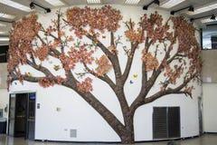Taipei bramy Lotniskowy drzewo Obrazy Stock