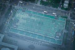Taipei Building Carpark Royalty Free Stock Photo