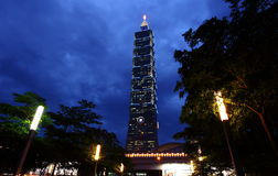 Taipei 101 Building Royalty Free Stock Photos