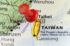Taipei capital of Taiwan. Copy space available Royalty Free Stock Image