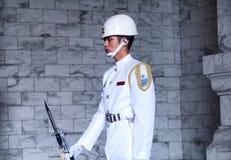 Taipei Chiang Kai-Shek Memorial Hall Guard royalty free stock photography