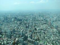 Taipei city drone Stock Photos