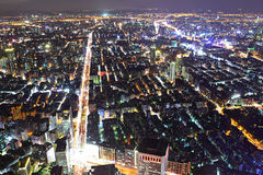 Taipei city night scene Stock Image