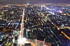 Taipei city night scene Stock Image