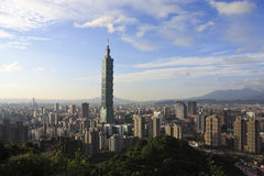 Taipei city scene Stock Image