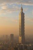 Taipei city skyline Stock Photo