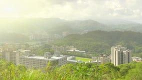 Taipei city skyline Stock Photography