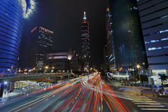 Taipei city traffic Royalty Free Stock Photography