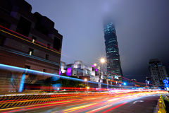 Taipei city traffic Stock Photos