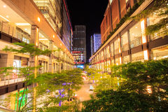 Taipei City view at night Stock Images