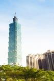 Taipei 101 city view in Taiwan Stock Photography