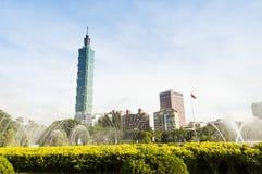 Taipei 101 city view in Taiwan Royalty Free Stock Image