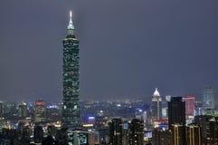 Taipei cityscape Fotografering för Bildbyråer